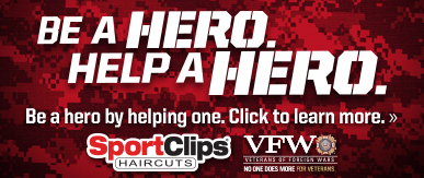 Sport Clips Haircuts of Cleveland​ Help a Hero Campaign