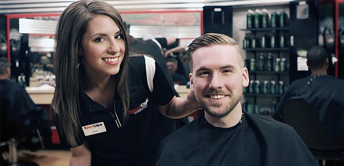 Sport Clips Haircuts of Cleveland​ stylist hair cut